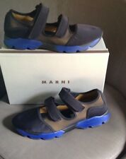 NIB $680 Men's MARNI  Single Hook And Loop Sneaker Sport Sandal 43 (US 10 )
