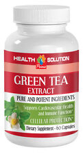 Eliminates High Blood Pressure Caps - Green Tea Extract 300mg - Egcg Powder 1B