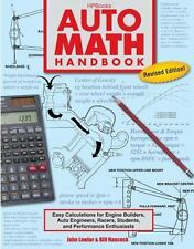 Auto Math Handbook : Easy Calculations for Engine Builders, Auto Engineers,...