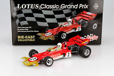 J. Rindt Lotus Typ 72C #2 Winner Germany Weltmeister Formel 1 1970 1:18 Quartzo
