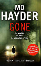 Gone, By Mo Hayder,in Used but Acceptable condition