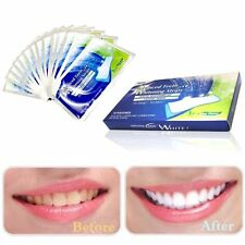 3D White Gel Teeth Whitening Strip Oral Hygiene Care Double Elastic Teeth Strips