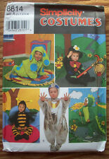 Toddler baby dog bee dragon hobo alien costume pattern 9318 size 1/2 1 2 3 4