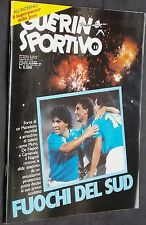 GUERIN SPORTIVO=N°35 1986=MAXIPOSTER JUVENTUS=CAGLIARI PARMA UDINESE