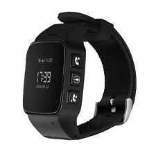 DMDG GPS Locator Watch Phone GPS Tracker Monitor SOS Alarm Android IOS Iphone