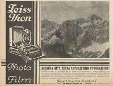 Z1421 ZEISS IKON Photo Film - Pubblicità d'epoca - 1928 Old advertising