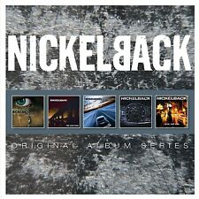 NICKELBACK - ORIGINAL ALBUM SERIES 5 CD NEU