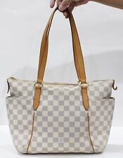 Used Authentic Louis Vuitton LV Bag Monogram Totally PM Damier Azur