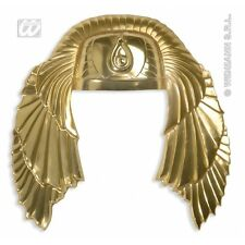 Golden Egyptian Headress Hat for Cleopatra Egyptian Queen Fancy Dress Accessory