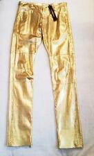 $6.5K ALEXANDRE VAUTHIER Runway Collection READY TO WEAR Gold PYTHON Pant 36/4