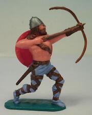 Timpo Toys Wikinger Viking Bogenschütze mit rotem Schild