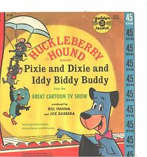HUCKLEBERRY HOUND CHILDREN'S PICTURE SLEEVE ONLY---PS--PIC----SLV