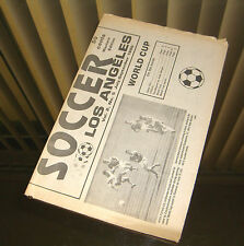 Soccer Los Angeles July-September 1990 - World Cup