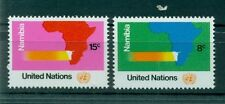 "Nations Unies New York 1973 - Michel n. 260/61 - ""Namibie"""