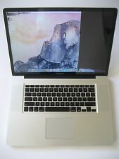 "APPLE 17"" MACBOOK PRO 3.06GHZ CORE 2 DUO MID 2009 A1297 WORKS FOR PARTS REPAIR"