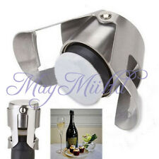 Stainless Steel Champagne Stopper Sparkling Wine Bottle Plug Sealer Convenient O