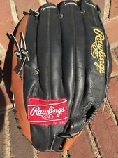 """Rawlings Renegade Right Hand RS1408 14"""" Glove, Leather, Baseball"""