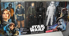 #9364 NRFB Disney Hasbro Target Store Star Wars Rogue One 6 Doll Action Figures