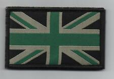 Union Jack Patch MTP Style Badge TRF Military Army Green Sleeve Velcro