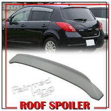 Painted For Nissan VERSA TIIDA 5DR Hatchback Rear Roof Spoiler Wing