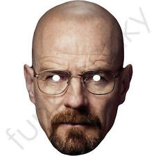 Walter White Celebrity Card Mask - Breaking Bad - All Our Masks Are Pre-Cut!