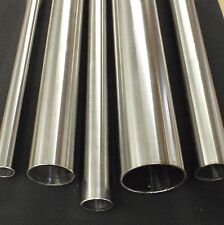 """STAINLESS STEEL TUBING 3"""" O.D. X 12 INCH LENGTH X 1/16"""" WALL 76mm"""
