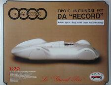 AUTO Union Tipo C carrello record 1937 - 1:20 revival KIT KIT Diecast-NUOVO
