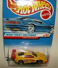 hot wheels 1/64 PENNZOIL PIKES PEAK CELICA 1998 1st ED & FORD MUSTANG COBRA SCCA