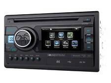 "Soundstream Double Din VR-346B DVD/CD/MP3 Player 3.4"" LCD Bluetooth USB SD New"