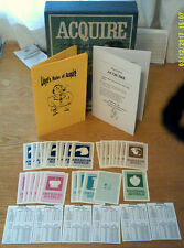ACQUIRE Game 1963 Conversion Kit (Only) (1962/63 Editions) W/Printed Back Stocks