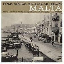 Folk Songs & Music [Malta] by Various Artists (CD, May-2012, Smithsonian...