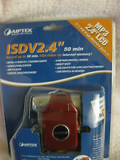 "brand new & sealed AIPTEK ISDV2.4"" LCD MP3 512MB FLASH MEMORY BUILT-IN"