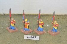 high elf spearmen 4 champions metal oop rare citadel (13542)