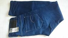 "G-Star Raw gs01, w31, l34, Blu, Slim Fit, High rise, 100% cotone, Made in Italy, gli uomini ""DISP"