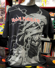 Authentic Iron Maiden  Mummy Eddie all over shirt XL