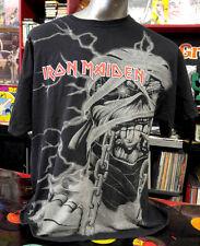 Authentic Iron Maiden  Mummy Eddie all over shirt XL