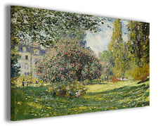 Quadro moderno Claude Monet vol VIII stampa su tela canvas pittori famosi