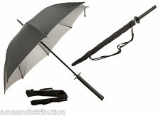 UMBRELLA ACTION BLACK UMBRELLA GOLF FISHING BROLLY