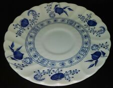 """Johnson Brothers """"BLUE NORDIC""""  Cup Saucer Plate, 5 1/2"""" Onion Floral L@@K!"""