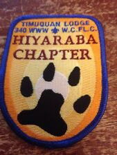 Timuquan Lodge #340 Hiyaraba Chapter X-4 Patch OA Order of the Arrow New K166