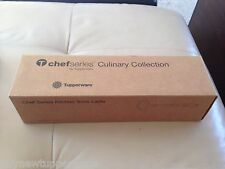 "Tupperware Chef Series 15"" Stainless Steel Culinary Ladle & Gift Box Rare New"