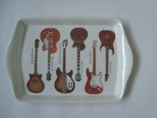 Electric Guitars Small Melamine Snack Crumb Tray Leonardo