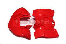 FRONT & REAR FENDER PLASTIC BODY KIT FOR KIDS KAZUMA MEERKAT REDCAT 50CC ATV RED