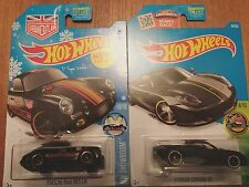2016 Hot Wheels PORSCHE 356A & CARRERA GT COMBO with matte Paint BRAND NEW!