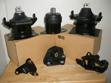 SET OF ENGINE & TRANSMISSION MOUNTS -- FITS: 2003-2005 HONDA ACCORD (3.0L, A/T).