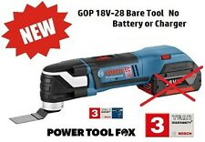new Bosch GOP 18V -28 Cordless Multi-Tool + AIZ32 Blade 06018B6002 3165140842563