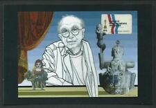 Flavio Costantini : Emanuele Luzzati , 2007 - cartolina del 2010