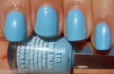 New .17oz MAVALA Nail Polish Color Cream SKY BLUE Light Blue Shimmer Lacquer 115