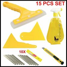 Car Window Tint Tools Kit Film Tinting Scraper Application Installation Fitting