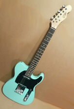 "Elite Tele Telecaster Style Guitar "" Seafoam Green "" Mdl TL-SF Hot Z-Mule® Demo"